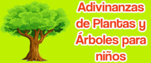 Adivinanzas de plantas y árboles